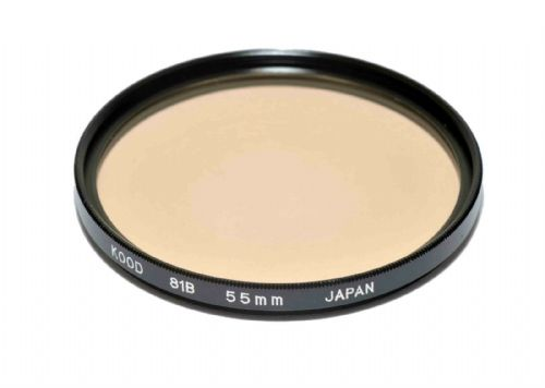 High Quality Optical Glass 81B Filter Made in Japan 55mm Kood